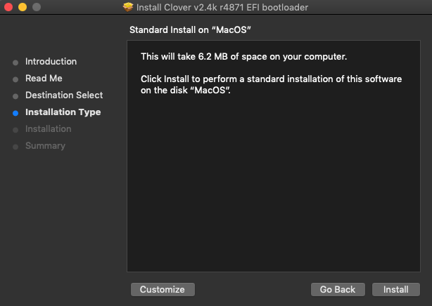 QEMU/KVM – MacOS Mojave installation – Service Artem is running…